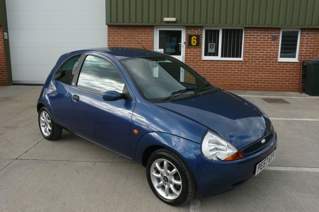 2007 57 FORD KA 1.3 ZETEC CLIMATE CLOTH 3d 69 BHP