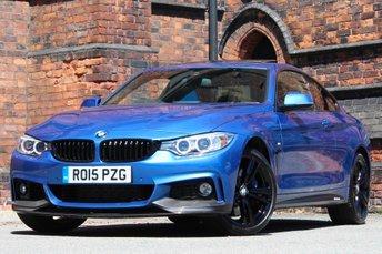 2015 BMW 4 SERIES 3.0 435d M Sport xDrive 2dr £26477.00