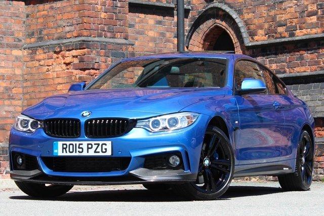 2015 15 BMW 4 SERIES 3.0 435d M Sport xDrive 2dr