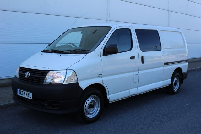 View our TOYOTA HI-ACE
