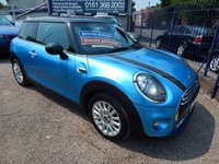 USED 2015 15 MINI HATCH COOPER 1.5 COOPER D 3d 114 BHP 1/2 LEATHER INTERIOR, BLUETOOTH, ALLOY WHEELS , ZERO ROAD TAX