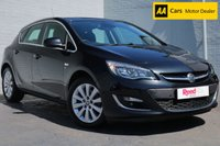 USED 2014 14 VAUXHALL ASTRA 2.0 ELITE CDTI S/S 5d 163 BHP HEATED LEATHER + FSH + £30 TAX