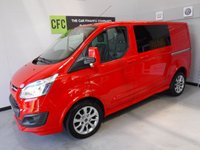 2013 FORD TRANSIT CUSTOM 2.2 290 SPORT LR P/V 1d 153 BHP £16000.00