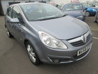 2009 VAUXHALL CORSA 1.4 AUTOMATIC DESIGN TWINPORT 5d  90 BHP 16V £3995.00