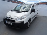 2016 CITROEN DISPATCH 2.0 1200 L2H1 ENTERPRISE HDI 1d 126 BHP £9495.00