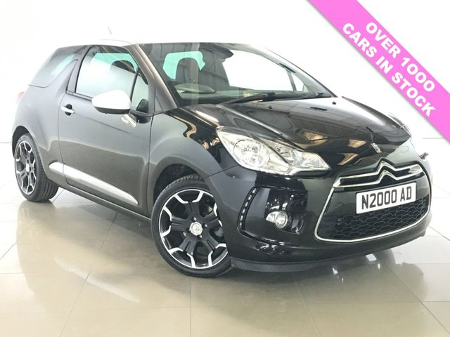 View our 2013 62 CITROEN DS3 1.6 DSTYLE PLUS 3d 120 BHP