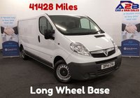 USED 2014 14 VAUXHALL VIVARO 2.0 2900 CDTI 115 BHP, Long Wheel Base, Low Mileage 41,428, Bluetooth Connectivity, 6 Speed Gearbox **Drive Away Today** Over The Phone Low Rate Finance Available, Just Call us on 01709 866668