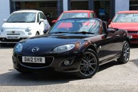 USED 2012 12 MAZDA MX-5 1.8 I VENTURE EDITION 125 BHP 2dr CONVERTIBLE LEATHER ** SAT-NAV ** BLUETOOTH ** PARK AID ** CRUISE CONTROL **