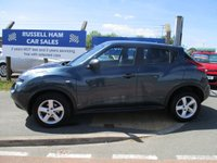 USED 2011 61 NISSAN JUKE 1.6 VISIA 5d 117 BHP 3 Stamps Of service History .2 Former Keepers .New MOT & Full Service Done on purchase + 2 Years FREE Mot & Service Included After . 3 Months Russell Ham Quality Warranty . All Car's Are HPI Clear . Finance Arranged - Credit Card's Accepted . for more cars www.russellham.co.uk  - .Spare Key-Owners Book Pack.