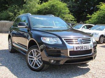 2008 VOLKSWAGEN TOUAREG 3.0 V6 ALTITUDE TDI 5d AUTO 221 BHP £10950.00