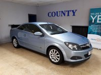 USED 2008 58 VAUXHALL ASTRA 1.6 TWIN TOP SPORT 3d 114 BHP * FULL HISTORY * LONG MOT *