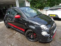 USED 2017 17 ABARTH 595 1.4 595C TROFEO T-JET 3d 158 BHP CONVERTIBLE Less than 11,000 miles covered! One Owner from new, Full Abarth Service History (Serviced at 9,000 miles), MOT until May 2020, Balance of Abarth Warranty until May 2020