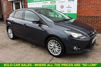 USED 2013 63 FORD FOCUS 1.0 ZETEC 5d 99 BHP +APPEARANCE PACK +FULL HISTORY