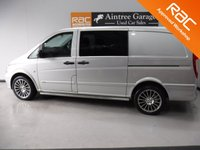 USED 2014 64 MERCEDES-BENZ VITO 2.1 116 CDI DUALINER 1d AUTO 163 BHP 5 SEATS XX CRUISE CONTROL XX ELEC WINDOWS XX AUTOMATIC