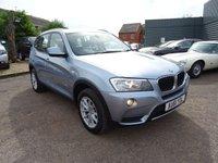 2011 BMW X3 2.0 XDRIVE20D SE 5d 181 BHP £10390.00