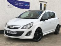 USED 2013 62 VAUXHALL CORSA 1.2 LIMITED EDITION 5d 83 BHP