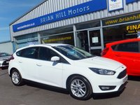 USED 2015 15 FORD FOCUS 1.0 EcoBoost ZETEC 5dr 100 bhp ...(£20 R/tax. ONE OWNER. FSH.)
