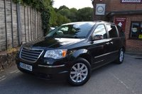 2009 CHRYSLER GRAND VOYAGER 2.8 CRD LIMITED 5d AUTO 161 BHP £10000.00