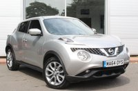 USED 2014 64 NISSAN JUKE 1.2 TEKNA DIG-T 5d 115 BHP LOW MILES. HUGE SPEC