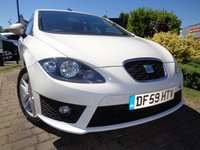 USED 2010 59 SEAT LEON 2.0 FR CR TDI 5d 168 BHP **Low Mileage Extensive History 12 Months Mot**