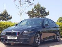 2011 BMW 5 SERIES 2.0 520D M SPORT 4d 181 BHP £10495.00
