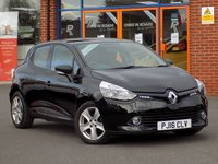 USED 2016 16 RENAULT CLIO 1.5 dCi Play 5dr **Cruise + Bluetooth + A/C**