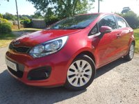 USED 2013 62 KIA RIO 1.1 CRDI 2 ECODYNAMICS 5d ALLOYS & A/C
