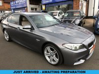 2015 BMW 5 SERIES 3.0 530D M SPORT 4d AUTO 255 BHP £SOLD
