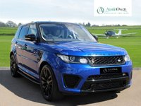 USED 2017 LAND ROVER RANGE ROVER SPORT 5.0 V8 SVR 5d AUTO 543 BHP
