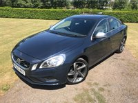 USED 2013 62 VOLVO S60 1.6 D2 R-DESIGN NAV 4d AUTO 113 BHP Full Service History MOT 06/19 Full Service History, MOT 06/19, Recently Serviced, RARE 1.6 R Design, Very Very Clean And Tidy Example,Sat Nav, Bluetooth Handsfree With Media Streaming, 18in R Design Cut Face Alloys, Power Fold Mirrors, Dimming Rear view Mirror, Cruise Control, Ice Cold Climate Aircon, X2 Owners, Auto Lights On, Auto Wipers, X4 Elec Windows, Full Onboard Trip Computer, Remote Locking, Electric Park Brake, Full Set Of Carpet Mats, Previously Cat D Insurance Repaired, Very Very Economical Run And Insure, Truly