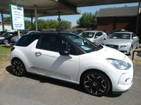 2013 CITROEN DS3 1.6 E-HDI DSTYLE PLUS 3d 90 BHP FULL SERVICE HISTORY £5995.00