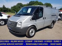 2013 FORD TRANSIT 125 330 SWB LOW ROOF RWD  WITH FULL SERVICE HISTORY £7695.00