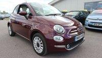 2015 FIAT 500 1.2 LOUNGE 3d 69 BHP £7395.00