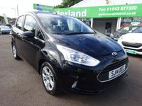 USED 2014 14 FORD B-MAX 1.0 ZETEC 5d 100 BHP 1.0 ECOBOOST 100PS....£30 A YEAR ROAD TAX.....FULL SERVICE HISTORY