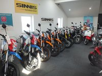 2018 SINNIS RSX125 EFI ALL SINNIS MODELS IN STOCK £2050.00