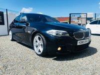 2010 BMW 5 SERIES 2.0 520D M SPORT 4d AUTO 181 BHP £10995.00