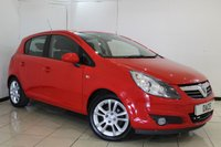 USED 2010 10 VAUXHALL CORSA 1.2 SXI 5DR 83 BHP SERVICE HISTORY + AIR CONDITIONING + MULTI FUNCTION WHEEL + RADIO/CD + ELECTRIC WINDOWS + 16 INCH ALLOY WHEELS