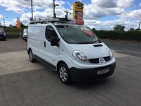 2013 RENAULT TRAFIC SL27 2.0 DCI 115 BHP ECO **DIRECT COUNCIL**ONLY 45000 MILES* £6995.00