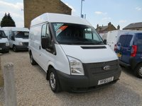 2012 FORD TRANSIT 100T 280 2.2TDCi SWB MEDIUM ROOF VAN £7495.00