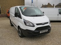 2013 FORD TRANSIT CUSTOM 270 BASE 100PS L1 H1 VAN £8995.00