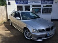 USED 2004 54 BMW 3 SERIES 2.5 325CI SPORT 2d Auto 47K HIGH SPEC LEATHER A/C SUNROOF BLUETOOTH CRUISE  EXCELLENT CONDITION