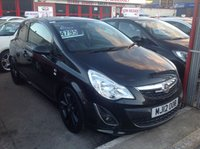 2012 VAUXHALL CORSA 1.2 LIMITED EDITION 3d 83 BHP £SOLD