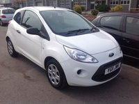 USED 2011 11 FORD KA 1.2 STUDIO 3d 69 BHP Low tax, low insurance, low milage, low price, superb great value, ideal first car.