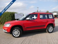 USED 2015 15 SKODA YETI 1.2 OUTDOOR S TSI DSG 5d AUTO 103 BHP PETROL, AUTOMATIC, 1 OWNER, HATCHBACK, SKODA HISTORY WITH 2 KEYS