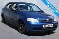 USED 2002 52 VAUXHALL ASTRA 2.0 DTi 16V LS 5dr [AC] MOT TO OCTOBER 2018