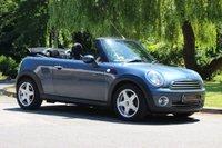 2009 MINI CONVERTIBLE 1.6 COOPER 2d 120 BHP £5990.00