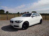 2012 BMW 1 SERIES 1.6 114I SPORT 5d 101 BHP £8490.00