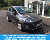 USED 2018 18 FORD FIESTA 1.0 ZETEC NAVIGATOR ECOBOOST (100ps) NEW MODEL THIS VEHICLE IS AT SITE 1 - TO VIEW CALL US ON 01903 892224