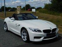 USED 2014 64 BMW Z4 2.0 Z4 SDRIVE20I M SPORT ROADSTER 2d 181 BHP HEATED SEATS, DAB RADIO, BMWSH