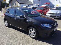 USED 2015 15 DACIA SANDERO 0.9 LAUREATE TCE 5d 90 BHP OUR  PRICE INCLUDES A 6 MONTH AA WARRANTY DEALER CARE EXTENDED GUARANTEE, 1 YEARS MOT AND A OIL & FILTERS SERVICE. 6 MONTHS FREE BREAKDOWN COVER.